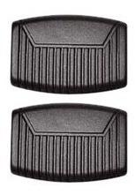 Kit De Capas Dos Pedais Do Freio E Embreagem Para Ford F1000 F4000 F250 E F350 Ref 5178 - Equipe Multivendas