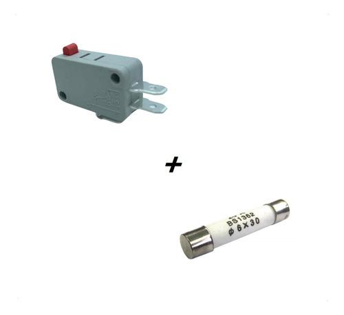 Microchave E Fusível Do Microondas Electrolux Mec41 Mef41