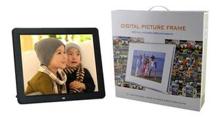 Portaretrato Digital 12 Pulgadas Video Fotos Mp3 Oferta Ya !