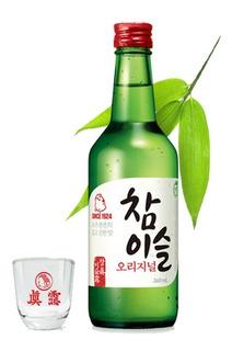 Soju Sabor Original 360 Ml Licor Coreano Exquisito! Alcohol