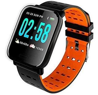 Relogio Smartwatch Inteligente A6 Batimentos E Pressão