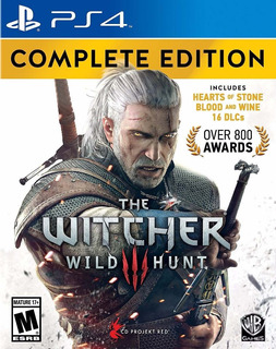 The Witcher 3 Wild Hunt Complete Edition Ps4 Español