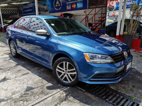 Volkswagen Jetta Live 2.0l Aut 2017 Azul Seda
