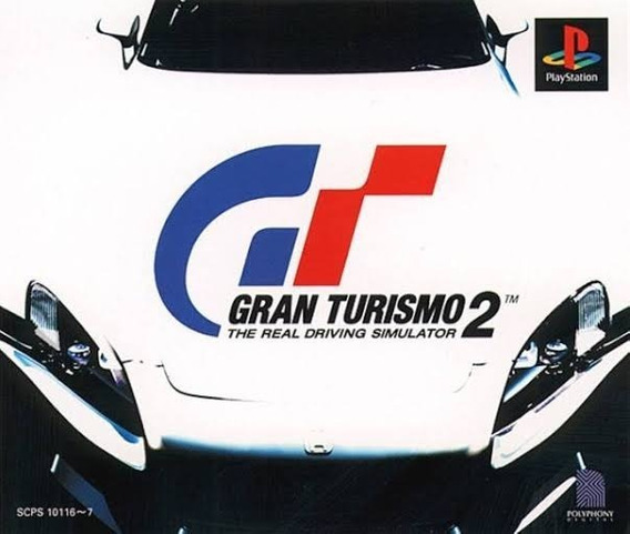 Gran Turismo 2 Ps1 Cd2 Original