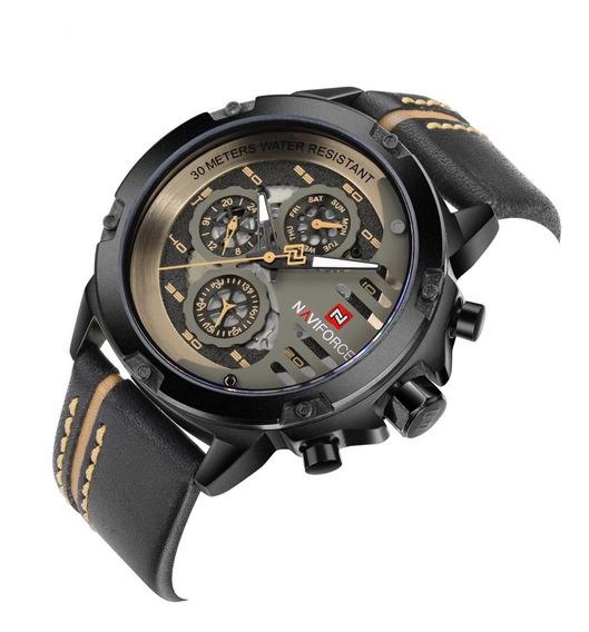 Reloj Hombre Naviforce Original Militar Deportivo Lujo 9110