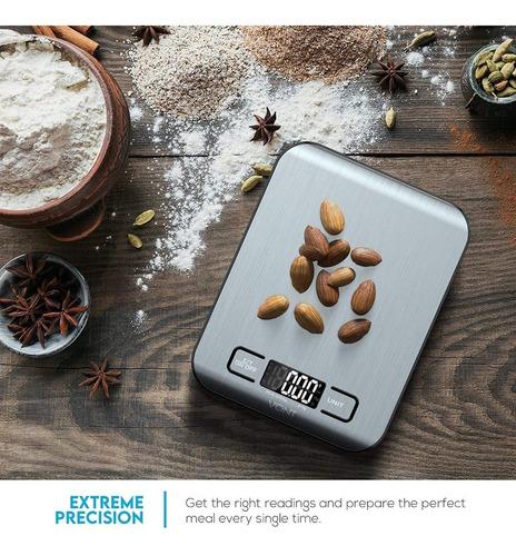Imagen 1 de 7 de Báscula Digital Para Cocina Precisa Vont
