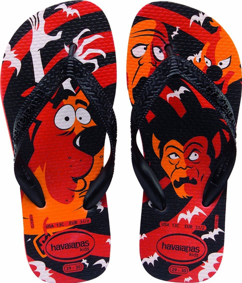 Zonazero Havaianas Ojotas Kids Scooby Doo Niños Originales