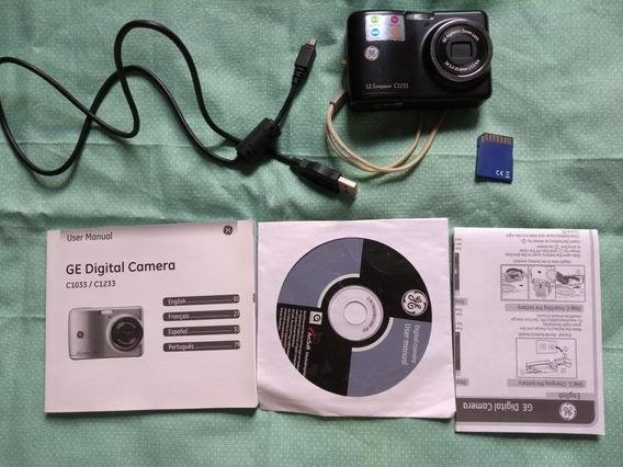 Câmera Fotográfica Digital Ge C1233 - 12.1 Megapixels