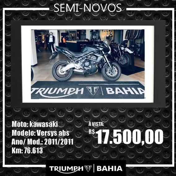 Kawasaki Versys 650 Abs . 2011/2011