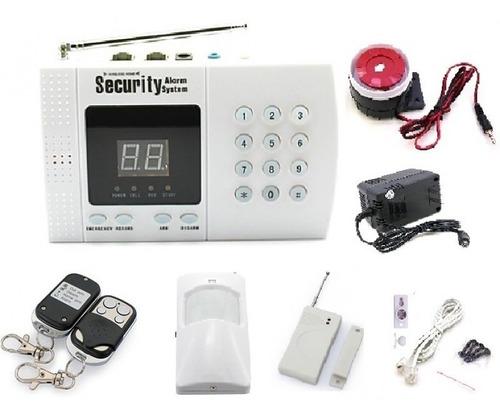 Imagen 1 de 3 de Sistema Alarma De Seguridad Inalambrica Casas Oficina Local