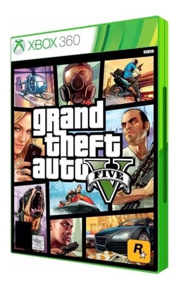 Gta 5 Xbox 360 Original Mídia Física