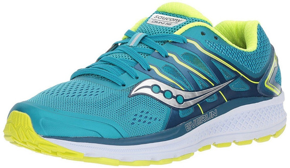 Saucony Zapatillas Running Mujer Omni 16 Verde/amarillo