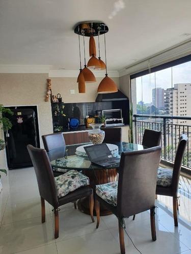 Imagem 1 de 30 de Apartamento Com 3 Dormitórios À Venda, 236 M² Por R$ 2.350.000 - Vila Gilda - Santo André/sp - Ap5995
