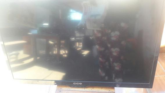Tv Led Cce Ln39g Com Tela Quebrada Funcionando