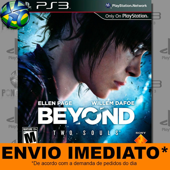 Jogo Ps3 Beyond Two Souls Psn Play 3 Envio Digital
