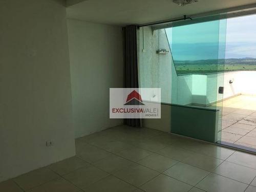 Cobertura Com 3 Dormitórios À Venda, 152 M² Por R$ 560.000,00 - Jardim Das Indústrias - São José Dos Campos/sp - Co0047