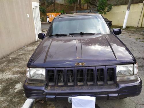 Imagem 1 de 5 de Jeep Grand Cherokee 1998 5.2 Limited Lx 5p