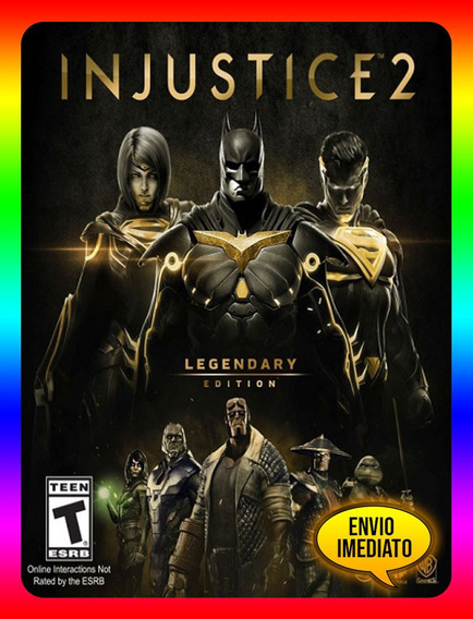 Injustice 2 Legendary Pc - Steam Key (envio Já)
