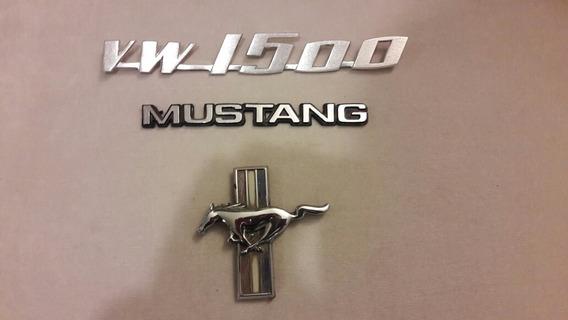 Emblemas Mustang 65 66 67 79 80 81 Vw Sedan Logo