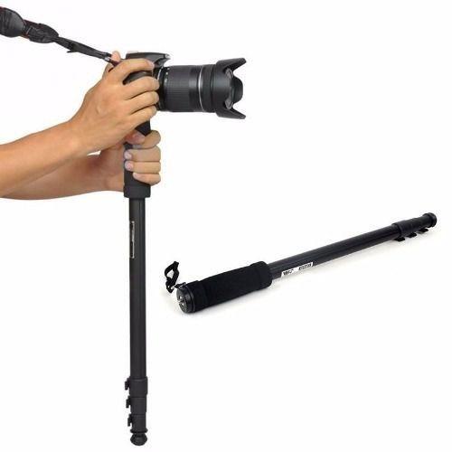 4 Monopé Weifeng Wt-1003 1,70m Sony Nikon Canon Até 3kg