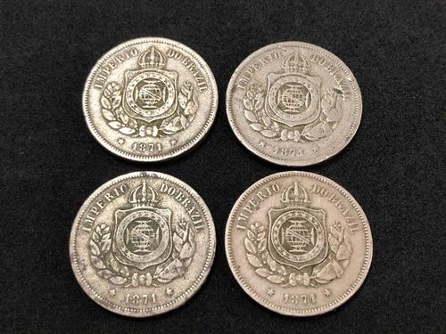 Moedas Antigas 100 Réis 1971 Império Do Brasil