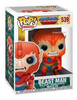Funko Pop Beast Man 539 Los Amos Del Universo Orig Scarlet