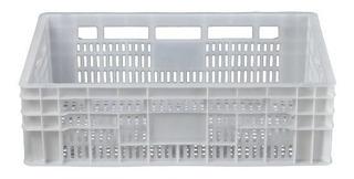 5 Peças Caixa Plástica Hortifruti Organizadora 17x40x60cm