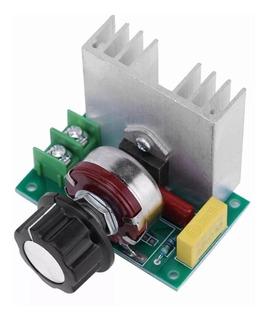 Dimmer 4000w 110-220vac Dimer Regulador Voltaje Velocidad