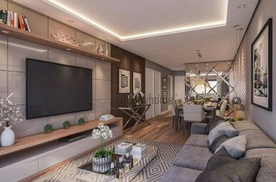 Cobertura Com 3 Dormitórios Sendo 1 Suíte E 3 Vagas À Venda, 224 M² Por R$ 1.390.000 - Ahú - Curitiba/pr - Co0245