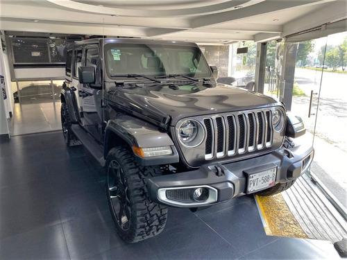 Imagen 1 de 15 de Jeep Wrangler Unlimited Sahara 2018  Linea Nueva