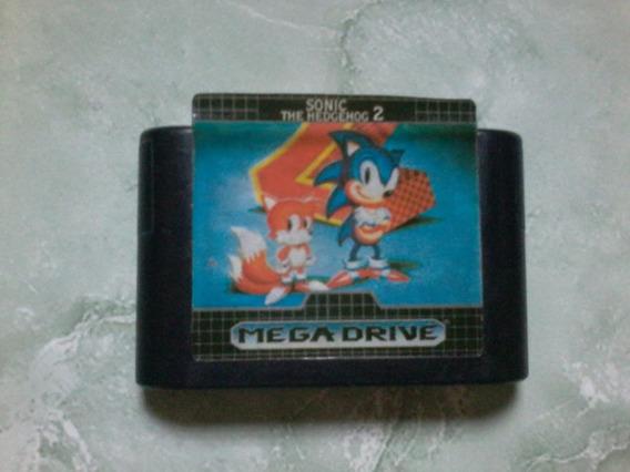 Sonic 2 Mega Drive Original Relabel Frete 12,00