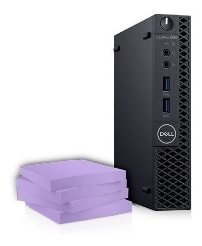 Computador Optiplex 3070 Micro Intel Core I3 Win Pro