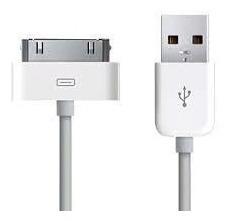 Cable De Carga Y Datos Usb Para iPad iPhone iPod 30 Pines