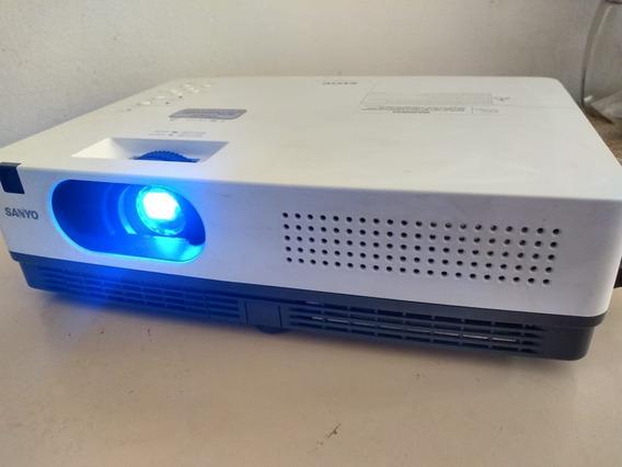 Sanyo Projetor Plc Xw200 - Com Controle E Conversor Hdmi