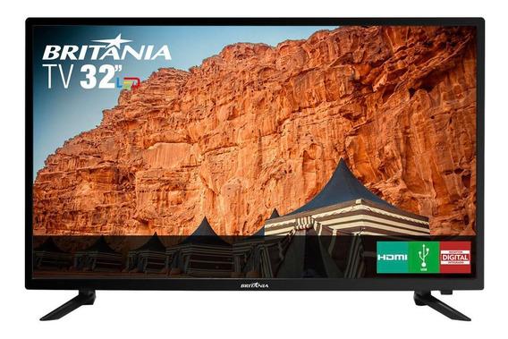 "TV Britânia BTV32C30D LED HD 32"""