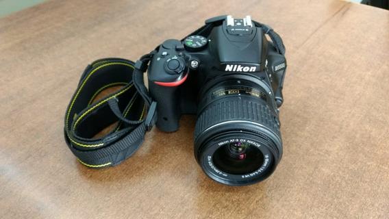 Camera Nikon 5500 + Lente 18 55