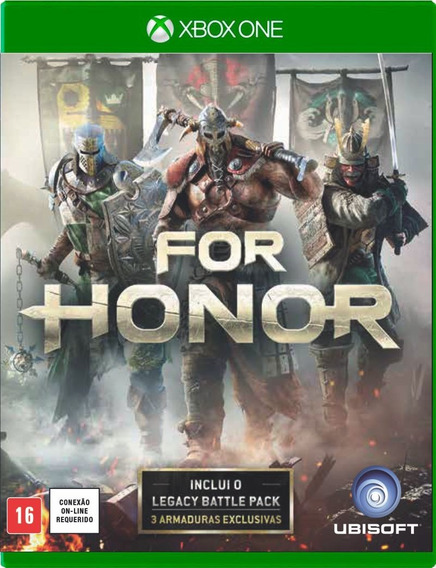 For Honor + Dlcs Xbox One Mídia Física ( Pronta Entrega ! )
