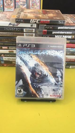 Metal Gear Rising Ps3 Jogo Mídia Física Semi Novo