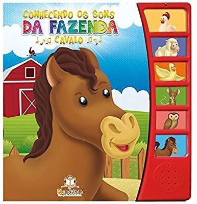 Livro Sonoro Conhecendo Os Sons Da Fazenda Cavalo