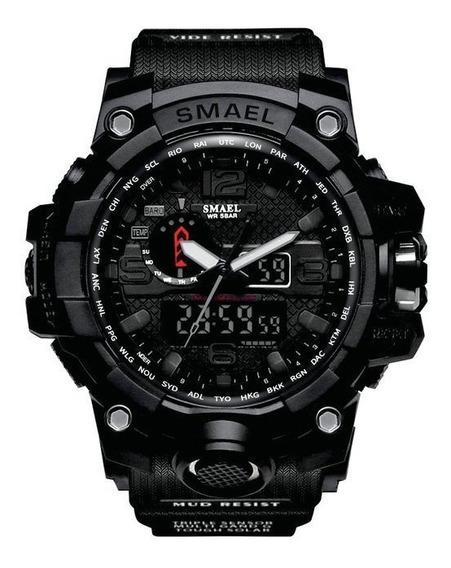 Relógio Smael G-shock Original Tático Militar Prova D