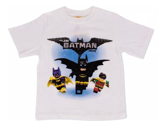Playera Para Niño Lego Estampado Batman Y Equipo Lego Movie