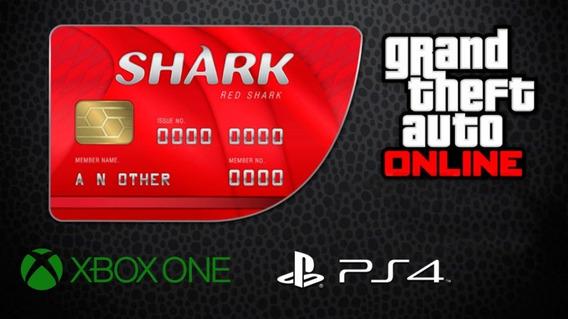 Dinheiro Gta 5 8 Milhoes + Rp Xbox One Ps4 Gta V