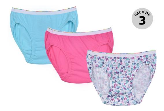 Pack 3 Panty Hanes 1302 Multicolor