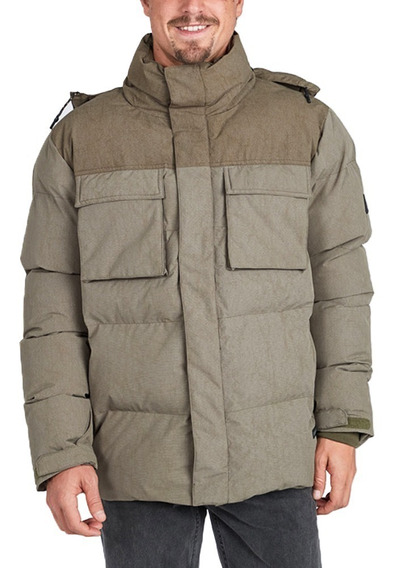 Campera Billabong Bunker Primaloft Hombre Military