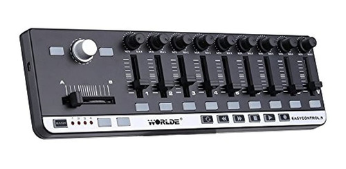 Ammoon Easycontrol.9 World Controlador Midi De Control De Lr