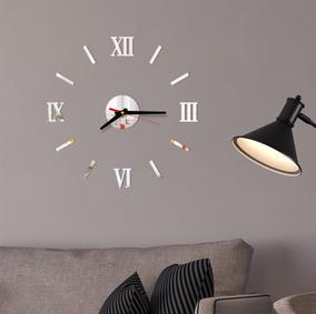 Relógio De Parede Decoração Sala Quarto Números Romanos 180