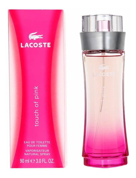Perfume Lacoste Touch Of Pink Feminino Edt 90ml Original
