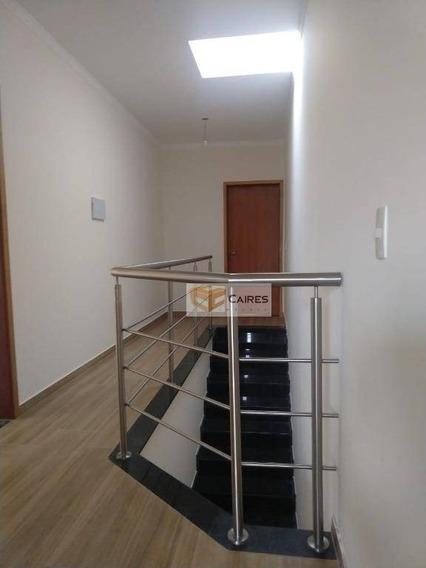 Casa À Venda, 170 M² Por R$ 510.000 - Parque Jambeiro - Campinas/sp - Ca2219