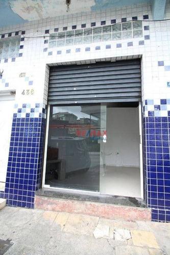 Imagem 1 de 8 de Salão Comercial 50 M² Na Ponte Grande Para Locação! - Sl0019