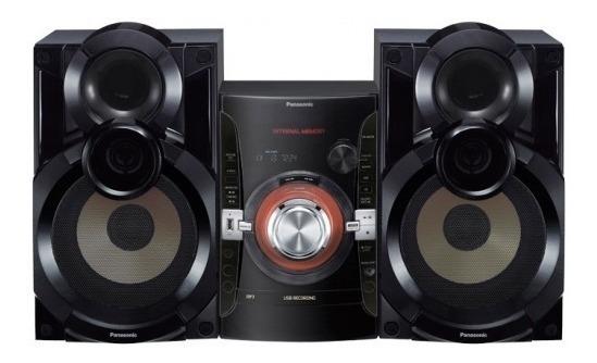 Equipo De Sonido Panasonic 5500 Watts Puerto Usb 135 Verdes